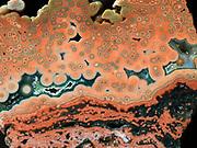 Slab of Ocean Jasper found on the near the village of Marovato on northwest coast of Madagascar.