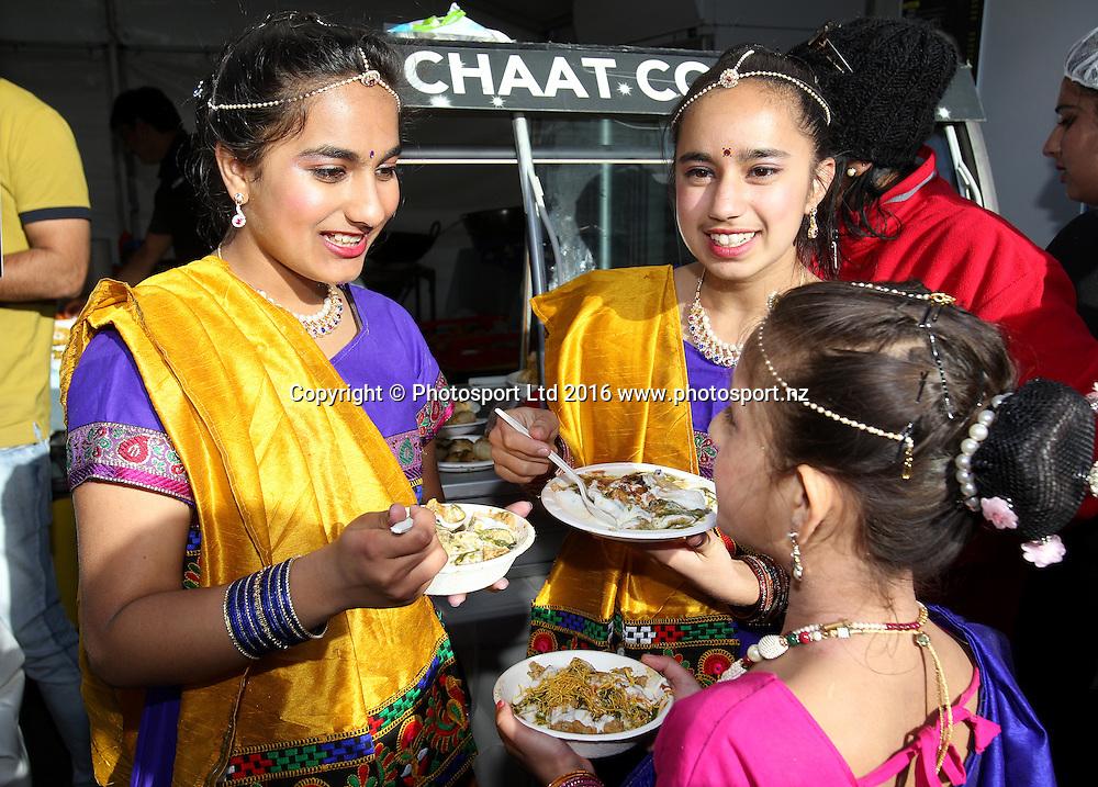 Diwali Festival, Auckland, New Zealand. Saturday 15 October 2016. © Copyright Image: Ben Campbell / www.photosport.nz