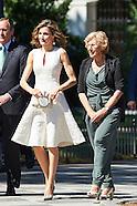 072616 Queen Letizia attends 25th Annual Awards of  FEDEPE