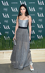 Doina Ciobanu attending the VIP preview for the V&A Museum's Fashioned From Nature exhibition, in London. Picture date: Wednesday April 18, 2018. Photo credit should read: Ian West/PA Wire