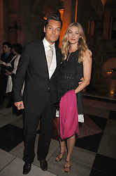 SEB & HEIDI BISHOP at a reception to launch Montblanc's First Fine Jewellery Collection held at The Victoria & Albert Museum, Cromwell Road, London SW7 on 24th April 2007.<br /><br />NON EXCLUSIVE - WORLD RIGHTS