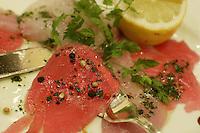 Corusiert l'arbsica- carpaccio de poissons a