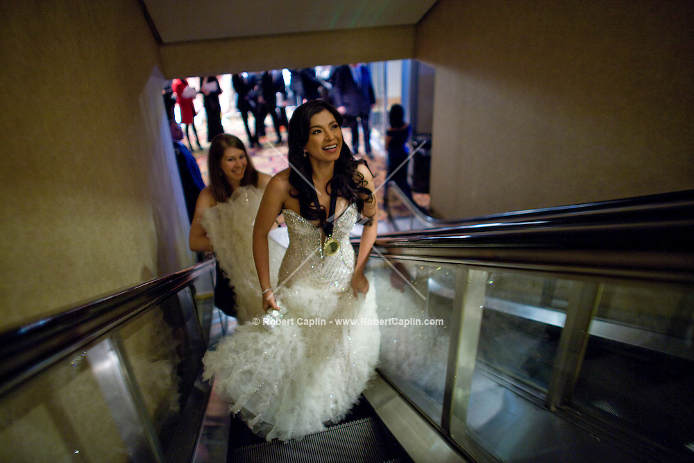 Angel Locsin (Philippines) at the 2009 International Emmy Awards Gala hosted by the International Academy of Television Arts & Sciences in New York.   ***EXCLUSIVE***