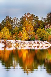 Enjoying photographing the shoreline at Klondike Park on this beautiful autumn morning. The colors and reflections just have a calming feel.