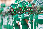 The Cuero Gobblers get ready to do battle against the Gonzales Apaches at Gobbler Stadium on Friday. Photo:Jaime R. Carrero/jcarrero@vicad.com