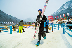 January 19, 2018 - Oberstdorf, GERMANY - 180119 Andreas Stjernen of Norway after the first round of the individual competition during the FIS Ski Flying World Championships on January 19, 2018 in Oberstdorf..Photo: Vegard Wivestad GrÂ¿tt / BILDBYRN / kod VG / 170079 (Credit Image: © Vegard Wivestad Gr¯Tt/Bildbyran via ZUMA Wire)