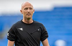 Dommer Benjamin Willaume-Jantzen før kampen i 3F Superligaen mellem FC København og AaB den 17. juni 2020 i Telia Parken, København (Foto: Claus Birch).
