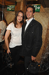 ARABELLA MUSGRAVE and the HON.JAMES TOLLEMACHE at a party to celebrate the launch of Independent (Formerly ICM) held at Mahiki, 1 Dover Street, London W1 on 17th September 2007.<br /><br />NON EXCLUSIVE - WORLD RIGHTS
