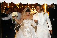 20090707: RIO DE JANEIRO, BRAZIL - Brazil and AC Milan star Alexandre Pato wedding with brazilian actress Sthefany Brito at Sao Francisco de Paula church in Rio de Janeiro. In picture: Alexandre Pato and Sthefany Brito. PHOTO: CITYFILES