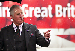 The Prince of Wales, known as the Duke of Rothesay while in Scotland, during a visit to Gray and Adams Limited in Fraserburgh. The company which makes refrigerated vehicles celebrates it's 60th anniversary.