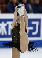 February 8, 2019 - California, U.S - Eunsoo Lim of South Korea competes in the Ladies Free Skate during the ISU Four Continents Figure Skating Championship at the Honda Center in Anaheim, California on February 8, 2019. (Credit Image: © Ringo Chiu/ZUMA Wire)