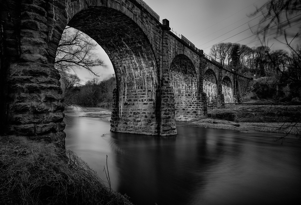 Thomas Viaduct over the Patpasco River at Elkridge, Maryland.