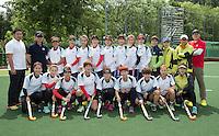 DELFT - Dames hockeyteam van Korea. Het team van Korea heeft Hudito als thuisbasis tijdens het WK Hockey. COPYRIGHT KOEN SUYK