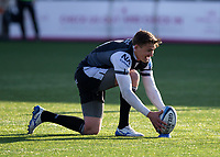 Rugby Union - 2020 / 2p021 Gallagher Premiership - Round 16 - Newcastle Flacons vs Bristol Bears - Kingston Park<br /> <br /> Toby Flood of Newcastle Falcons converts a penalty to make it 10-0 to Newcastle Falcons<br /> <br /> Credit: COLORSPORT/BRUCE WHITE