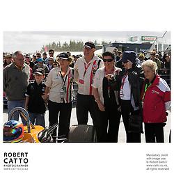 Jan McLaren;Amanda McLaren;Pat McLaren at the A1 Grand Prix of New Zealand at the Taupo Motorsport Park, Taupo, New Zealand.