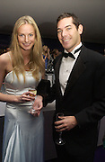 Eugenie Warre and Alexander Green. British Red Cross London Ball,- H20 the Element of Life held at the Room By the River. SE1. 17 November 2005. ONE TIME USE ONLY - DO NOT ARCHIVE  © Copyright Photograph by Dafydd Jones 66 Stockwell Park Rd. London SW9 0DA Tel 020 7733 0108 www.dafjones.com