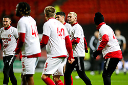 Jack Hunt as Bristol City wear special warm up shirts in tribute to the Afobe family following the passing of Benik Afobe's baby daughter Amora, aged 2 - Rogan/JMP - 10/12/2019 - Ashton Gate Stadium - Bristol, England - Bristol City v Milwall FC - Sky Bet Championship.
