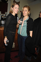 Left to right, KATE PAKENHAM and DIXIE CHASSAY at the Grand Classic screening of The Apartment held at The Electric Cinema, 191 Portobello Road, London on 16th March 2008.<br /><br />NON EXCLUSIVE - WORLD RIGHTS