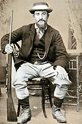 Christian De Wet (1854-1922) Boer soldier and politician c1900.