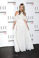 Laura Whitmore, ELLE Style Awards 2016, Millbank London UK, 23 February 2016, Photo by Richard Goldschmidt