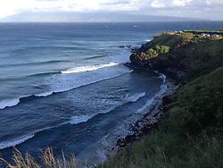 Honolua Bay (Panorama), Maui, Hawaii, US