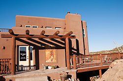 USA, Utah, restaurant North Creek Grill at Slot Canyon Inn in Escalante, run by Adam and Kristen Rex, with grilled steak a specialty.