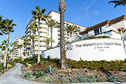 The Hilton Waterfront Beach Resort on Pacific Coast Highway in Huntington Beach