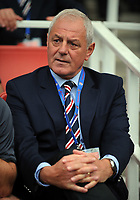 Walter Smith Manager<br /> Rangers 2009/10<br /> Alex Song Arsenal<br /> Arsenal V Rangers 02/08/09 at the Emirates Stadium<br /> The Emirates Cup 2009<br /> Photo Robin Parker Fotosports International