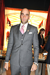DRUMMOND MONEY-COUTTS at a preview evening of the annual London LAPADA (The Association of Art & Antiques Dealers) antiques Fair held in Berkeley Square, London on 18th September 2012.