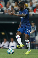 ISTANBUL, TURKEY - AUGUST 14: Fikayo Tomori of Chelsea in action during the UEFA Super Cup match between Liverpool and Chelsea at Vodafone Park on August 14, 2019 in Istanbul, Turkey. (Photo by MB Media/Getty Images)