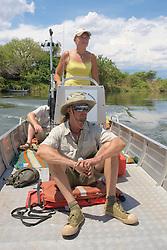 Cruising On The Zambezi