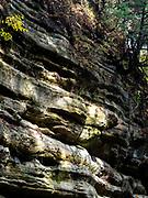 French Canyon, Starved Rock State Park, near Ottawa, Illinois, USA on a beautiful autumn day.