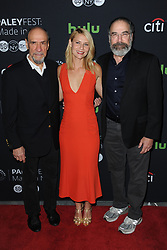 October 6, 2016 - New York, NY, USA - October 6, 2016  New York City..F. Murray Abraham, Claire Danes and Mandy Patinkin attending the PaleyFest New York 2016 'Homeland' screening and panel discussion at The Paley Center for Media on October 6, 2016 in New York City. (Credit Image: © Callahan/Ace Pictures via ZUMA Press)