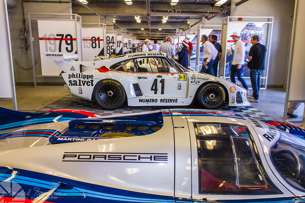 Part of the Porsche Rennsport 2015 display, held at Mazda Laguna Seca Raceway, on the Monterey Peninsula, California.