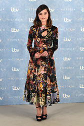 Jenna Coleman attending the Season 2 Premiere of ITV's Victoria held at the Ham Yard Hotel, London