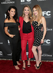 "Scout Taylor-Compton, Landry Allbright and Renee Olstead at the premiere of ""Feral"" held at the Arena Cinelounge in Hollywood.<br /> (Los Angeles, CA)"