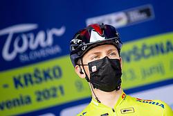 Tadej POGACAR of UAE TEAM EMIRATES prior to the 5th Stage of 27th Tour of Slovenia 2021 cycling race between Ljubljana and Novo mesto (175,3 km), on June 13, 2021 in Slovenia. Photo by Matic Klansek Velej / Sportida
