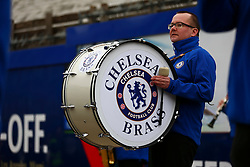 Chelsea band outside Stamford Bridge - Mandatory byline: Jason Brown/JMP - 19/03/2016 - FOOTBALL - London, Stamford Bridge - Chelsea v West Ham United - Barclays Premier League