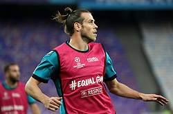 May 25, 2018 - Kiev, Ukraine - Real Madrid's Gareth Bale works out with teammates during a training session at the Olympic Stadium in Kiev. Ukraine, Friday, May 25, 2018 Tomorrow will be the final match of the Champions League between Real Madrid and Liverpool at the Olympic Stadium in Kiev. (Credit Image: © Danil Shamkin/NurPhoto via ZUMA Press)