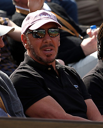INDIAN WELLS, CALIFORNIA - MARCH 09:  Larry Ellison who is a co-founder and the executive chairman and chief technology officer of Oracle Corporation and actress Elisabeth Shue attend  the men's singles second round match on day six of the BNP Paribas Open at the Indian Wells Tennis Garden on March 09, 2019 in Indian Wells, California..People: Larry Ellison. (Credit Image: © SMG via ZUMA Wire)