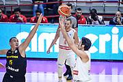 DESCRIZIONE : Varese FIBA Eurocup 2015-16 Openjobmetis Varese Telenet Ostevia Ostende<br /> GIOCATORE : Luca Campani<br /> CATEGORIA : Tiro Tre Punti <br /> SQUADRA : Openjobmetis Varese<br /> EVENTO : FIBA Eurocup 2015-16<br /> GARA : Openjobmetis Varese - Telenet Ostevia Ostende<br /> DATA : 28/10/2015<br /> SPORT : Pallacanestro<br /> AUTORE : Agenzia Ciamillo-Castoria/M.Ozbot<br /> Galleria : FIBA Eurocup 2015-16 <br /> Fotonotizia: Varese FIBA Eurocup 2015-16 Openjobmetis Varese - Telenet Ostevia Ostende
