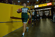 March 18, 2016; Tempe, Ariz;  The Green Bay Phoenix enter the arena before a game between No. 7 Tennessee Lady Volunteers and No. 10 Green Bay Phoenix in the first round of the 2016 NCAA Division I Women's Basketball Championship in Tempe, Ariz.