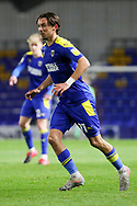 AFC Wimbledon midfielder Ethan Chislett (11) on pitch during the EFL Sky Bet League 1 match between AFC Wimbledon and Bristol Rovers at Plough Lane, London, United Kingdom on 5 December 2020.