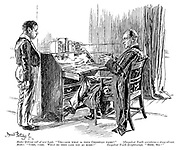 """Master (taking roll of new boys). """"Yes - and what is your Christian name?"""" [Corpulent youth maintains a stony silence. Master. """"Come, come. What do they call you at home?"""" Corpulent youth (brightening). """"Beef, sir!"""""""