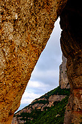 Las Agulles, Montserrat, mountain, Catalonia