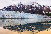 Margerie Glacier, Glacier Bay National Park, southeast Alaska USA.