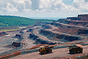 Open cast mining at Carajas Mines, Brazil RESERVED USE - NOT FOR DOWNLOAD -  FOR USE CONTACT TIM GRAHAM