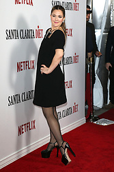 "Drew Barrymore at the permiere of ""Santa Clarita Diet"".<br />