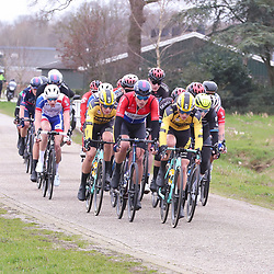 29-02-2020: Wielrennen: Ster van Zwolle: Zwolle<br />Kopgroep met oa Rick Pluimers, David Dekker