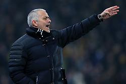 26th January 2017 - EFL Cup (Semi-Final) - Hull City v Manchester United - Man Utd manager Jose Mourinho - Photo: Simon Stacpoole / Offside.